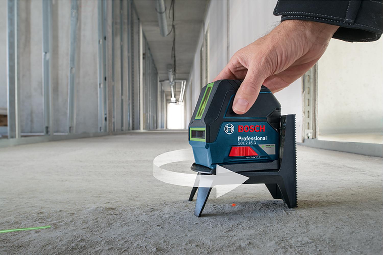 Снимка на Линеен лазер Bosch GCL 2-15 G Professional+RM1,мишена,куфар