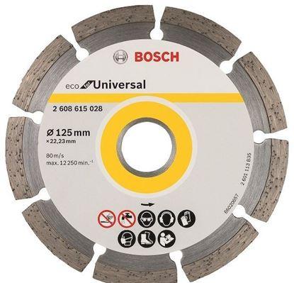 Снимка на Диамантен диск ECO Universal 125mm;2608615028