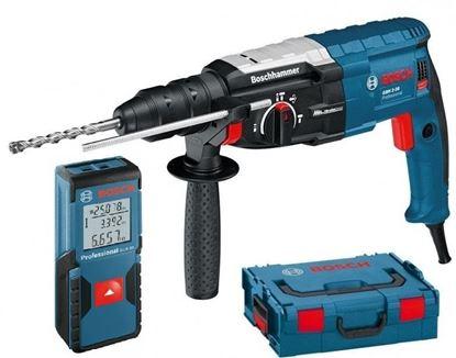 Снимка на GBH 2-28 F перфоратор ,бързосменяем патронник + GLM 30 лазерна ролетка в L-BOXX