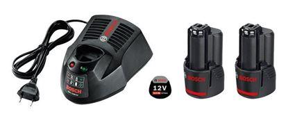 Снимка на Стартов пакет 2x GBA 12V 3,0 Ah батерии + GAL 1230 CV зарядно устройство; картонена кутия;1600A00X7E