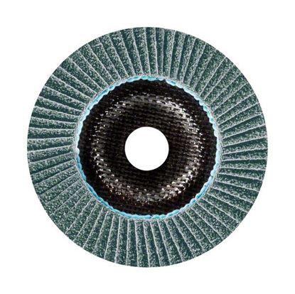 Снимка на X781 Ламелен шлифовъчен диск, Best for Metal, скосен, основа фибростъкло, 125x22.23mm, G80;Ceramic Grit Technology;2608601480