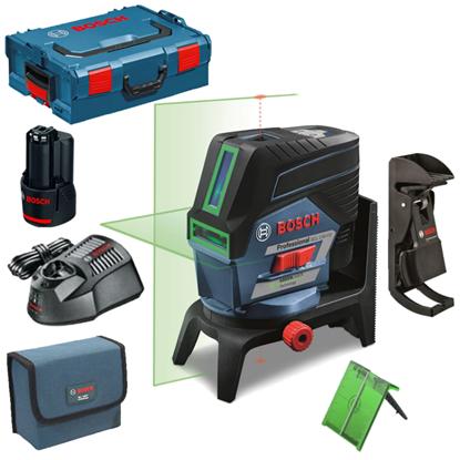 Снимка на НОВО! GCL 2-50 CG Линеен лазер+RM2+1x2.0Ah 12 V Bat.EU(Lboxx 136)+ БОНУС Лични предпазни средства