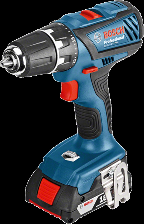 Снимка на  Акумулаторен винтоверт Bosch GSR 18-2-LI Plus Professional (2x2.0Ah)