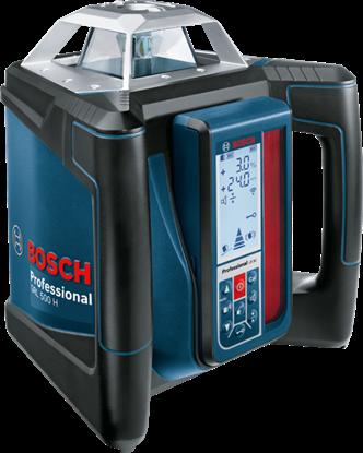 Снимка на  Ротационен лазер Bosch GRL 500 H + LR 50 Professional