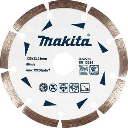 Снимка на Диамантен диск за сухо рязане на мрамор и бетон Makita;230x7x22,23mm;D-52788