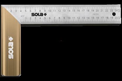Снимка на Ъгъл ;SRB 250;56012101;неръждаема стомана,250x145mm