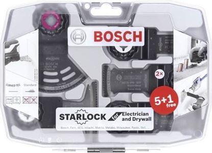 Снимка на Комплект Starlock 6 части за електричарство и сухо строителство;2608664622