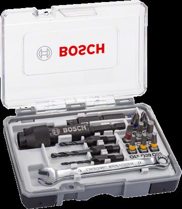 Снимка на  Комплект битове за винтоверт Drill&Drive, 20 части;2607002786