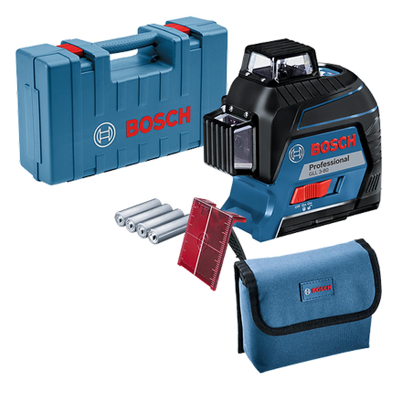Снимка на Bosch GLL 3-80 линеен лазер + Подарък комплект инструменти Wiha