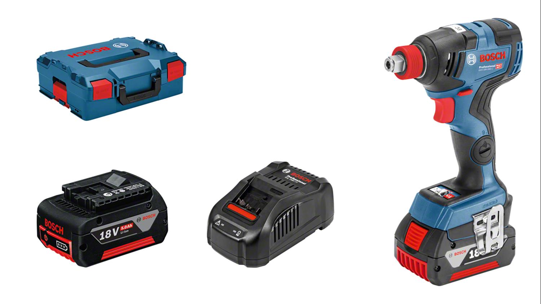 Снимка на НОВО!Акумулаторен ударен гайковерт GDX 18V-200 C Professional,2× 5.0 Ah батерии+GAL 1880 зарядно+L-BOXX 136+ПОДАРЪК КОМПЛЕКТ БИТОВЕ IMPACT CONTROL И БАРБАРОН