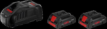 Снимка на Акумулаторен сет Bosch 2× GBA ProCORE 18V 4.0 Ah + GAL 1880 CV;1600A016GF