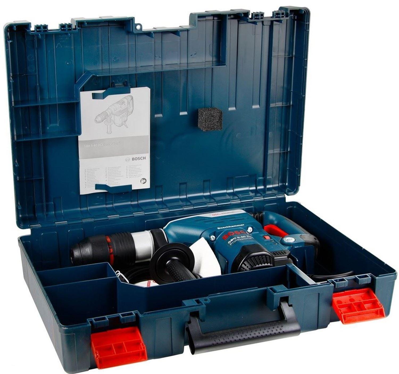 Снимка на Перфоратор GBH 5-40 DCE в куфар,1.150W,8.8 J + Подарък лични предпазни средства