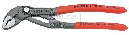 Снимка на Клещи раздвижени KNIPEX Cobra 180;8701180