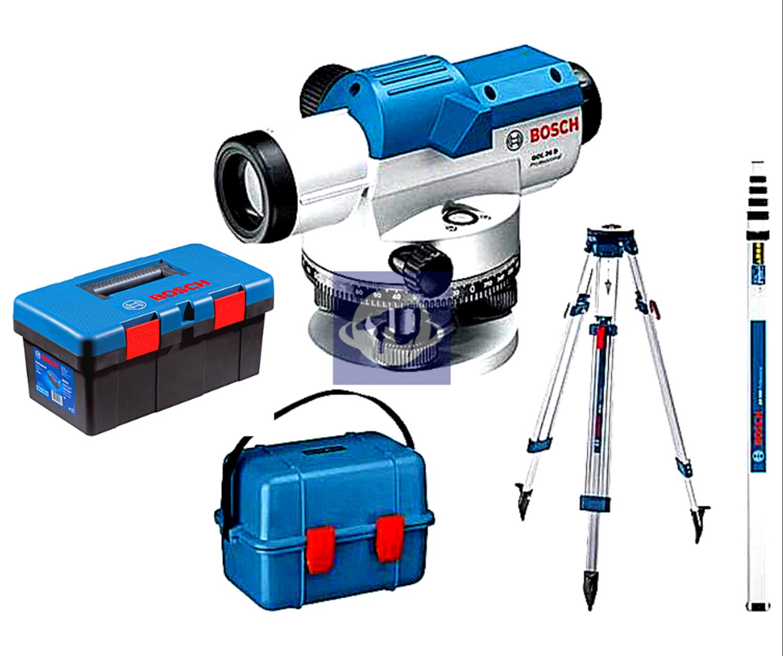 Снимка на  Оптически нивелир GOL 26 G Professional+BT 160+GR 500 + БОНУС Лични предпазни средства