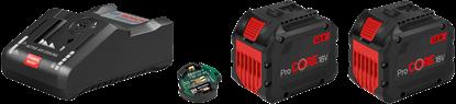 Снимка на Стартов комплект: 2 x ProCORE18V 12.0Ah + GAL 18V-160 C;1600A016GY