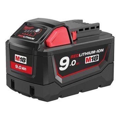 Снимка на Milwaukee M18B9 LI-ION Батерия 9.0AH,4932451245