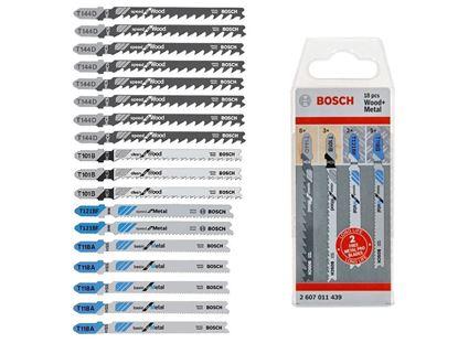 Снимка на  К-т ножчета 18 бр Wood&Metal;2607011439