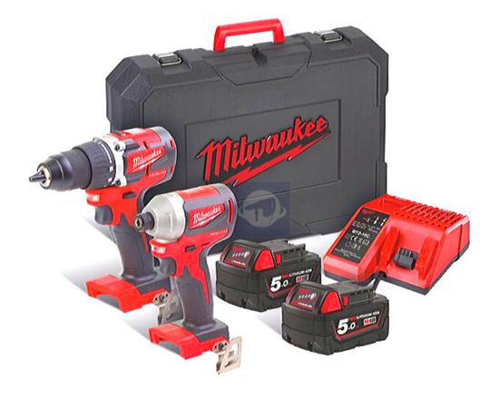 Снимка на Milwaukee сет M18 CBLPP2B-502C;4933464718