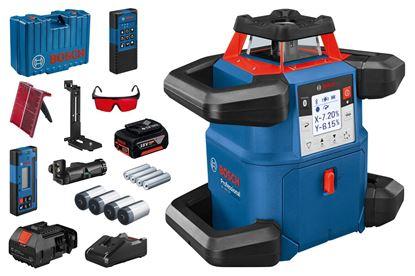 Снимка на НОВО!Ротационен лазер GRL 600 CHV,18V,4.0Ah,GAL 18V-40,Куфар,Мишена,Предпазни очила