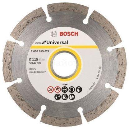 Снимка на Диамантен диск ECO Universal 115mm,2608615027