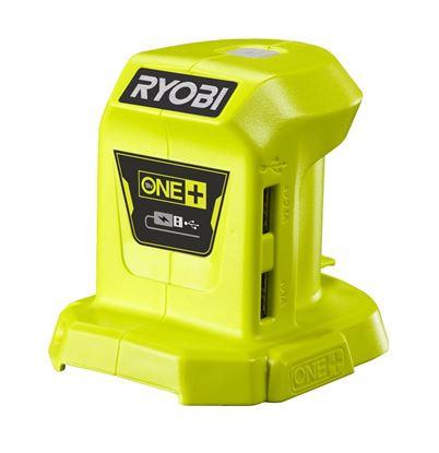 Снимка на Акумулаторен USB адаптер Ryobi R18USB-0,18V,SOLO, 5133004381