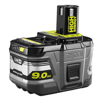 Снимка на 18V 9.0Ah Литиум+ HIGH ENERGY батерия Ryobi  RB18L90,5133002865