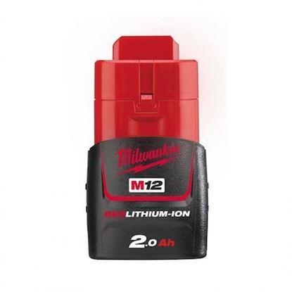 Снимка на Акумулаторна литиево-йонна батерия Milwaukee M12B2/ 12V, 2Ah,4932430064