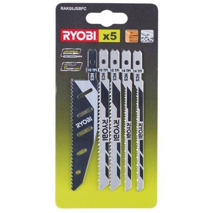 Снимка на К-кт ножчета за прободен трион Ryobi RAK05JSBFC,5132002697